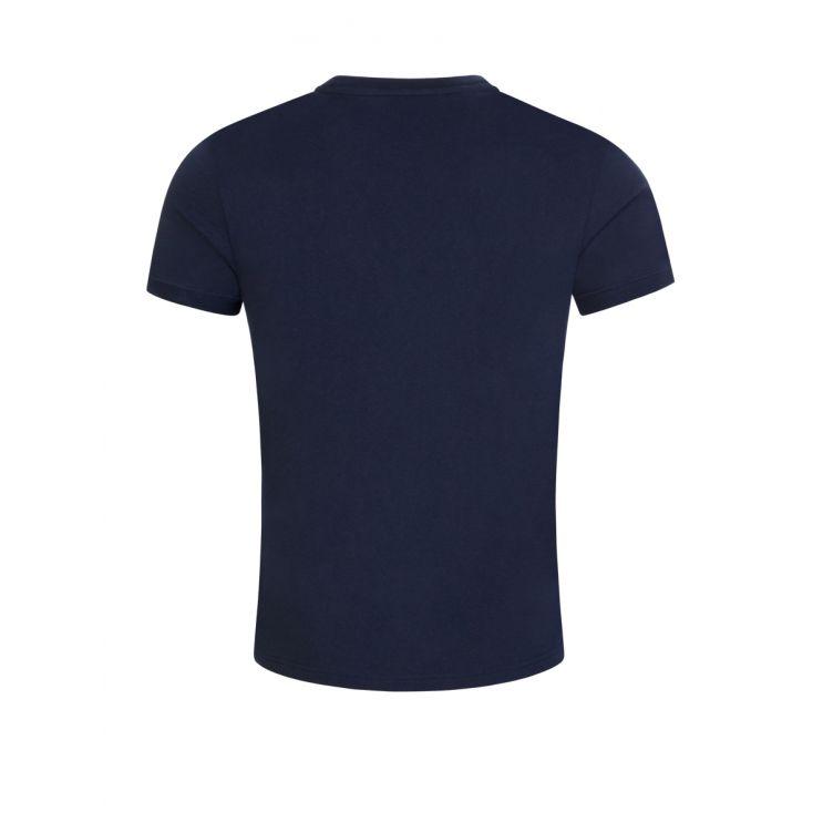 Tommy Bodywear Navy Logo Tape T-Shirt
