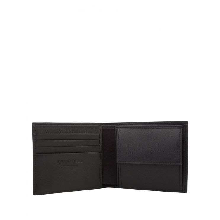 Dsquared2 Black Leather Dylan Wallet