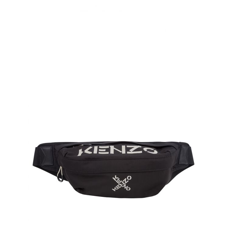 KENZO Black Sports Waist Bag