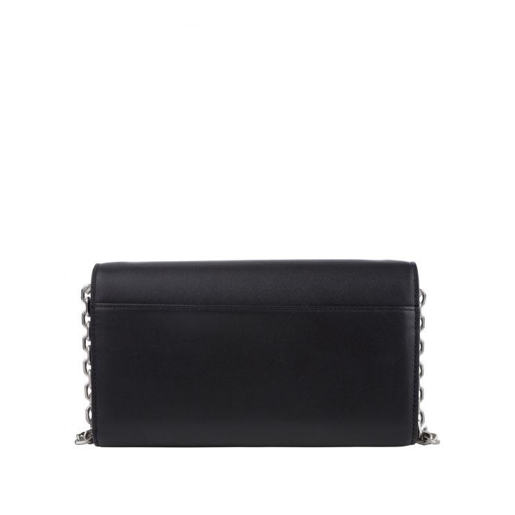 KENZO Black Leather K Purse