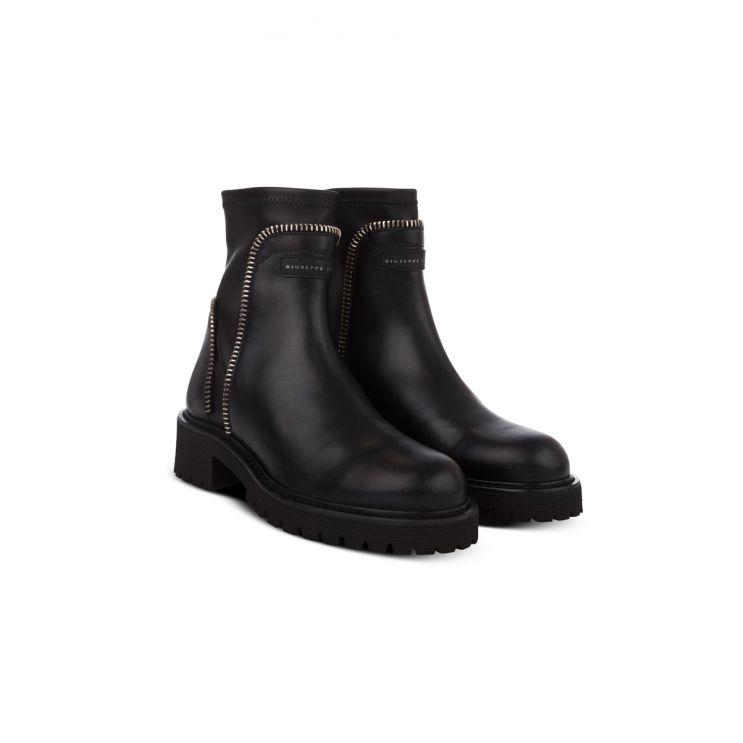 Giuseppe Zanotti Black Rodger Chelsea Boots