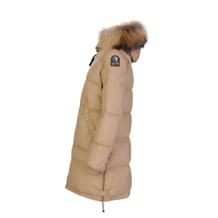 Parajumpers Beige Light Long Bear Parka Coat