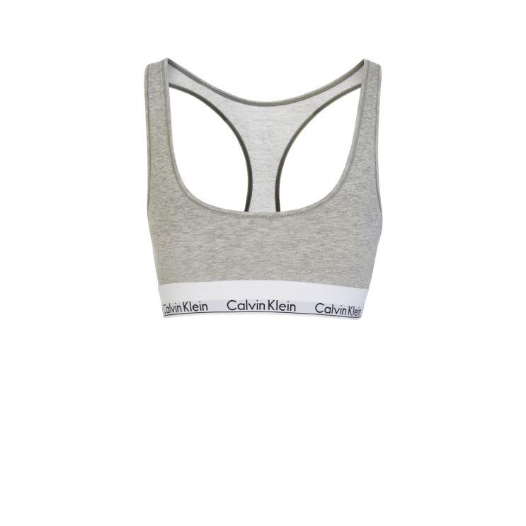 Calvin Klein Grey Modern Cotton Bralette