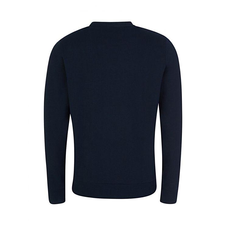 Calvin Klein Navy Soft Cotton Logo Sweatshirt