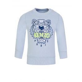 Baby  Blue Tiger Sweatshirt