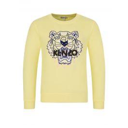 Yellow Tiger Sweatshirt