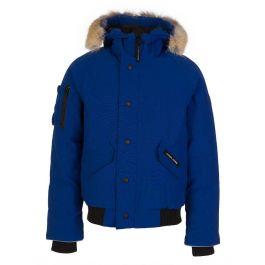 Kids Blue Rundle Bomber Jacket