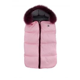 Pink Hooded Baby Nest