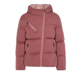 Pink Taurua Puffer Jacket