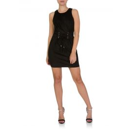 Black V-Back Dress