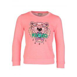 Pink Tiger Cotton Jumper