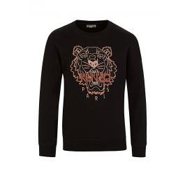 Black Metallic Tiger Sweatshirt