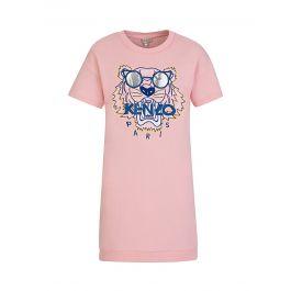 Pink Tiger Sweatshirt Dress