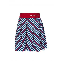Blue/Red Striped Gonna Skirt