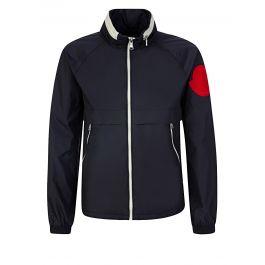 Navy Octagon Rain Jacket