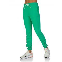 Green Milan Zip Sweatpants