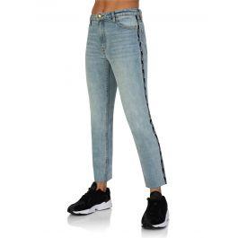 Stonewashed Blue Denim Driver Jeans