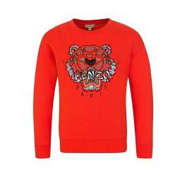Orange Japan Tiger Sweatshirt