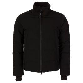 Black Woolford Bomber Jacket