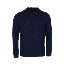 Navy Cotton-Blend Sleep Hoodie