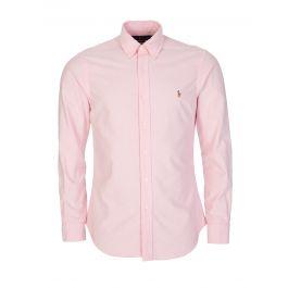 Pink Logo Oxford Shirt