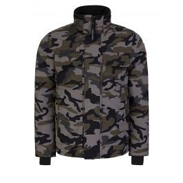 Grey Classic Camo Forester Jacket