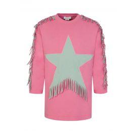 Pink Star Fringe Dress