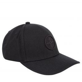 Junior Black Compass Logo Cap