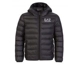 Junior Black Down Quilted Jacket