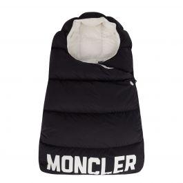 Black Quilted Sleeping Bag