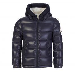 Navy Nylon Salzman Jacket