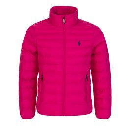Kids Pink Lightweight Bomber Jacket