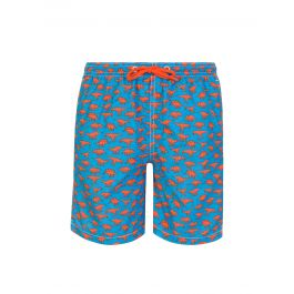 Blue Dino Friends Swim Shorts
