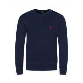Kids Navy Classic Fleece Sweatshirt