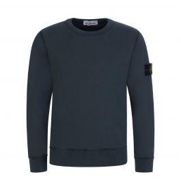 Junior Green Fleece Cotton Sweatshirt