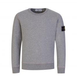 Junior Grey Pure Cotton Sweatshirt
