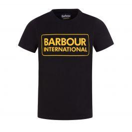 Black Essential Logo T-Shirt