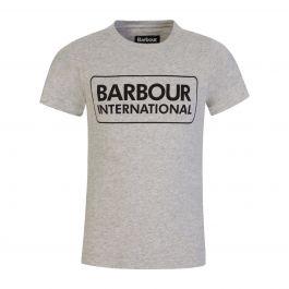 Grey Essential Logo T-Shirt