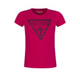 Kids Pink Core Logo T-Shirt
