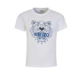 White/Ice Blue Tiger T-Shirt