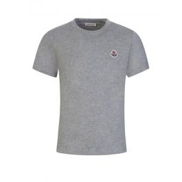 Grey Logo Patch T-Shirt