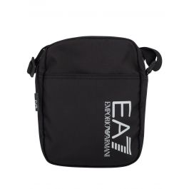 Black Train Logo Pouch Bag