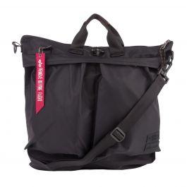 Black Helmet Bag
