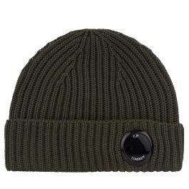 Green Extra Fine Merino Wool Beanie