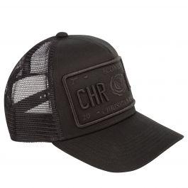 Black Iconic II Plate Cap
