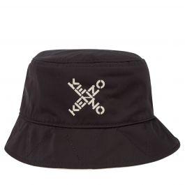 Black 'Little X' Logo Bucket Hat