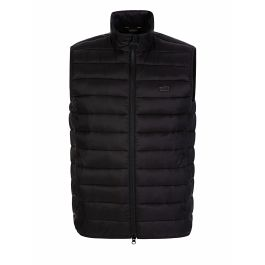Black Baffle Quilted Reed Gilet