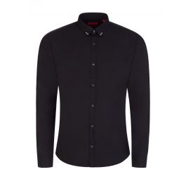 Black Extra-Slim-Fit Ero3 Shirt