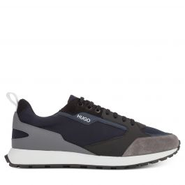 Navy Blue Icelin Runners Trainers