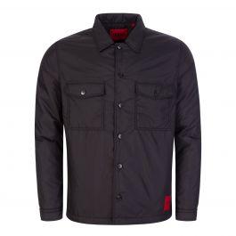 Black Enalu Padded Overshirt